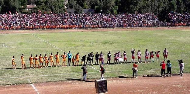 Fasil Kenema and Kedus Giorgis, Fasiledes Stadium (Photo: Fasil Kenema Football Club Facebook page)