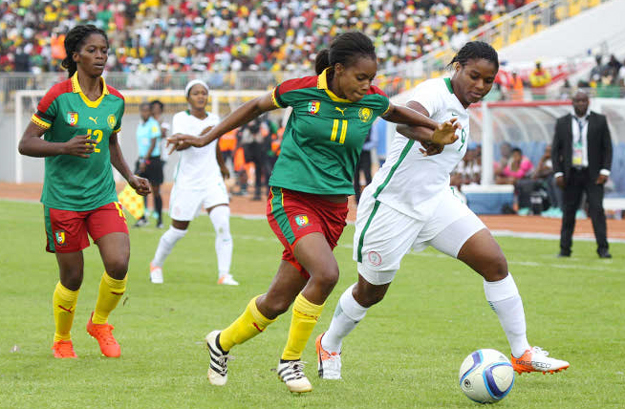 Nigeria vs Cameroon (photo: CAF)