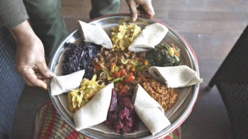 Walia's Ethiopian dining is an experience best shared