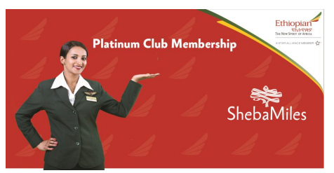 shebamiles Ethiopian Airlines ShebaMiles to Launch Platinum Tier level ...