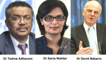 Dr. Tedros Adhanom among Finalists for Post of WHO Director-General