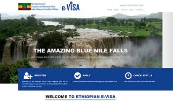 Ethiopia Launches Online Entry Visa Application and Issuance (E-Visa)