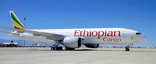 Boeing, Ethiopian Airlines Commitment to Purchase Two 777 Freighters