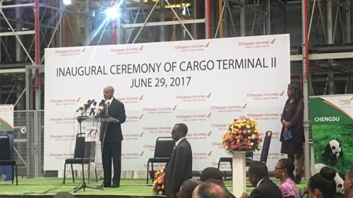 Ethiopian Airlines Inaugurates State-of-the-Art Cargo Terminal-II