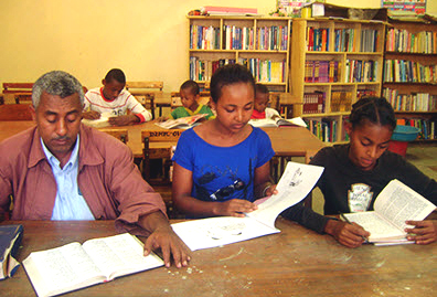 Oakland Man Creates Needed Libraries In His Native Ethiopia