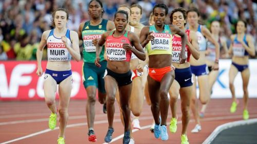A shocking last-placed finish for Genzebe Dibaba of Ethiopia