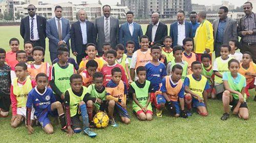 CAF President Ahmad visits Ethiopia