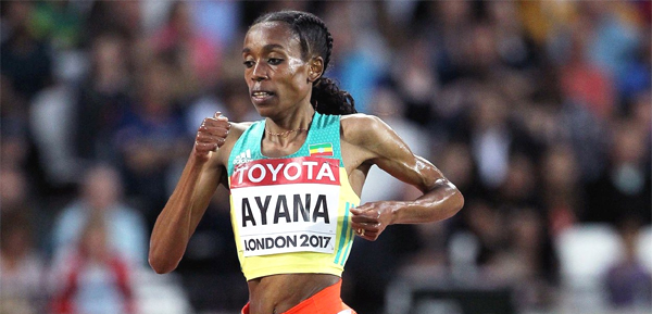 Highflying Almaz Ayana notches global coronation as the Ethiopian dispatches of 10,000m London field