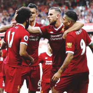 Liverpool thrash Arsenal 4-0
