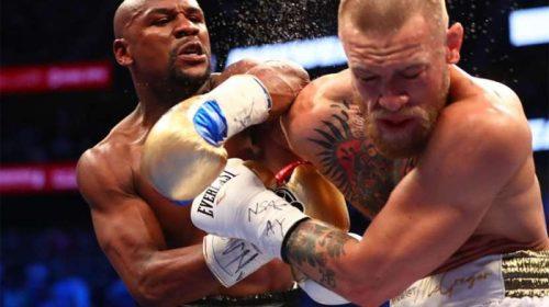Mayweather earns TKO win over McGregor