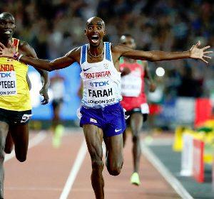 IAAF World Athletics Championships: Mo Farah wins men's 10 000m title