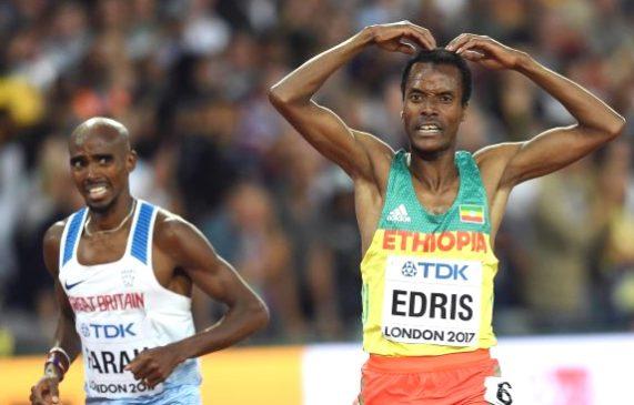 Muktar Edris blazes to golden glory, spoils Mo Farah's farewell party