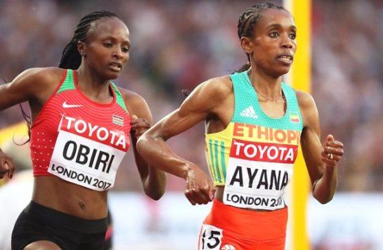 Silver Medal for Almaz Ayana in Women's 5000m