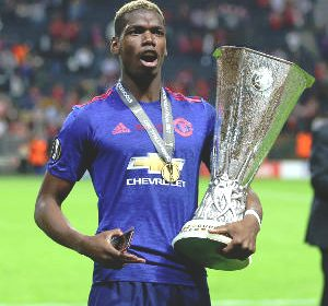 Paul Pogba Wins Europa League Player of the Year Award