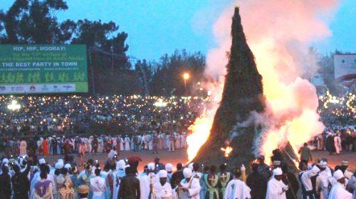 Ethiopians Celebrate Demera