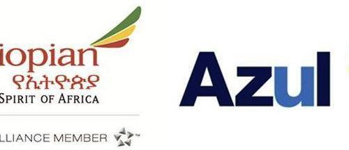 Ethiopian and Azul Brazilian Airlines Enter Codeshare Agreement