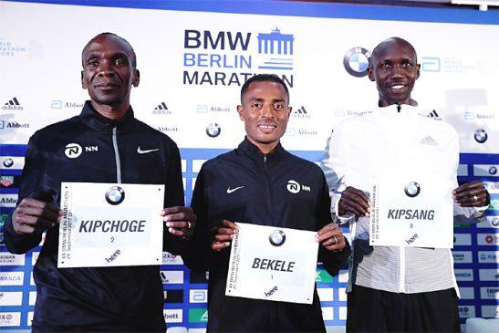 BMW Berlin- Marathon on Sunday