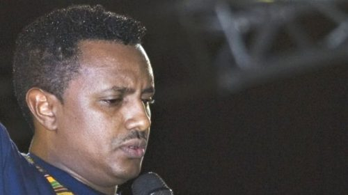 Ethiopian pop star Teddy Afro's album launch stopped by police
