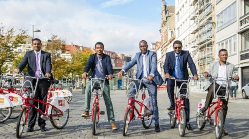 Hawassa City planning to create public bike network similar to Antwerp's red bikes