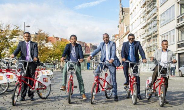 Hawassa City planning to create public bike network similar to Antwerp's red bikes