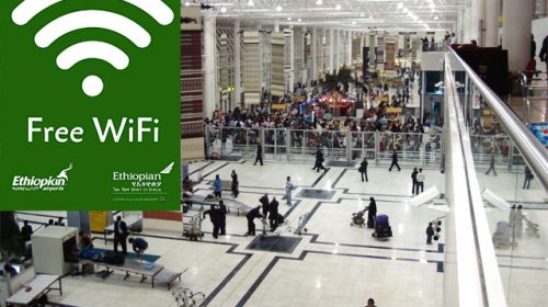 Ethiopian Avails Free Wi-Fi Connection at Addis Ababa Bole International Airport