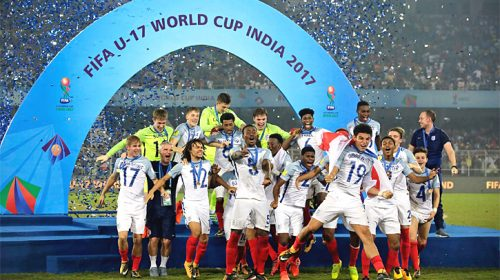 England win U17 World Cup: Young Lions fight back to beat Spain in final