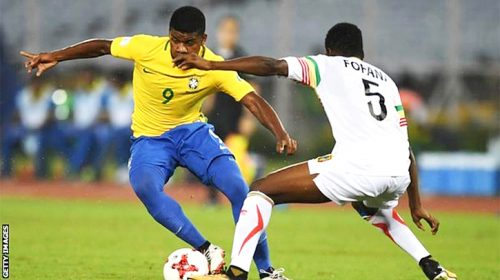 Brazil beat Mali to take third place at the U17 World Cup