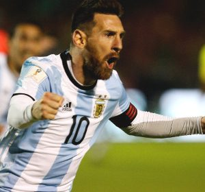 Messi treble fires Argentina into World Cup