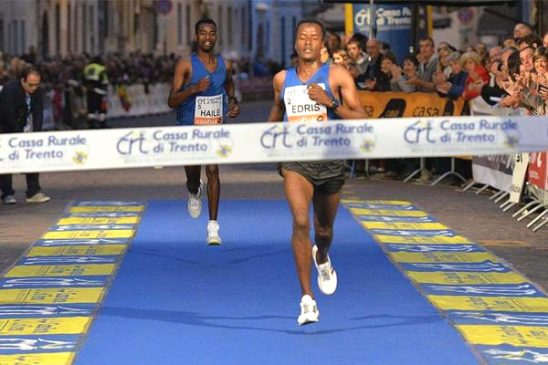 Muktar Edris Wins Third Giro Al Sas 10k Road Race
