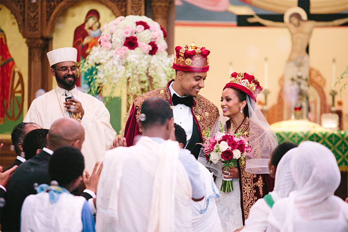 a29649d9560 This Couple s Glamorous Ethiopian Orthodox Wedding Gives Us Serious ...