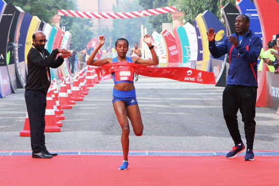 Legese and Ayana secure Ethiopian double in Delhi