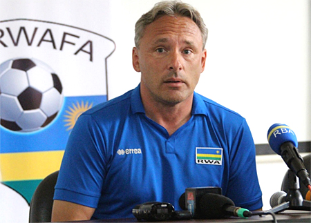 Amavubi Coach Hey says CHAN qualification is possible