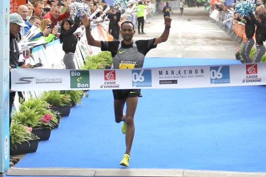 Ethiopian Athletes Dominate Marathon des Alpes Maritimes
