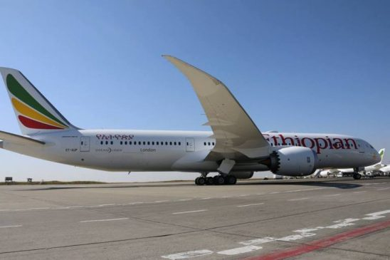 Ethiopian Airlines Receives a Second Boeing 787-9 Fleet