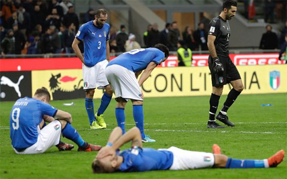 Italy fail to reach World Cup in 60 years