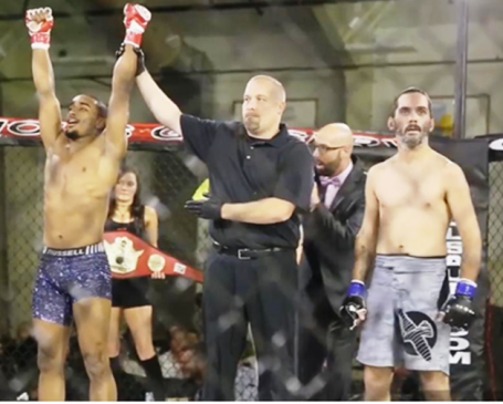 Video: Fighter Afrem Gebremichael becomes first ever Ethiopian to win a sanctioned MMA championship title belt in Huron, South Dakota
