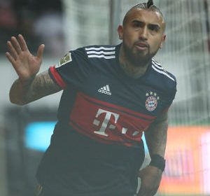 Bundesliga: Vidal fires Bayern eight points clear