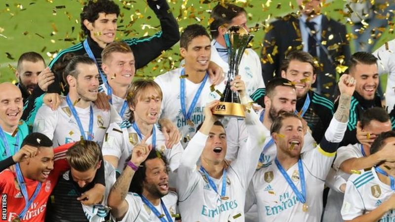 FIFA Club World Cup: Real Madrid beat Gremio 1-0 in final