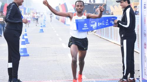 Kenenisa Bekele Wins Kolkata Road Race