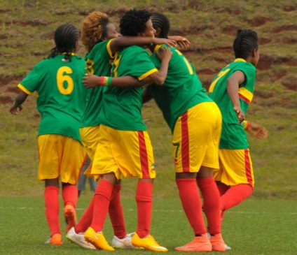 Young Lucy 424x365 - Ethiopia Held To A 1-1 Draw By Nigeria In FIFA U-17 Women's World Cup Qualifier