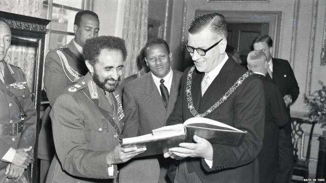 Blue plaques for Emperor Haile Selassie unveiled in Somerset