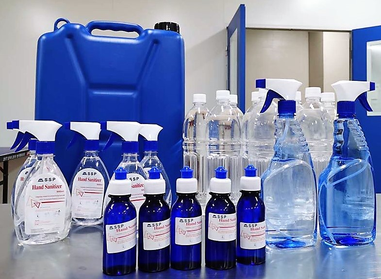 Chinese pharmaceutical company launches hand sanitizer production in Ethiopia